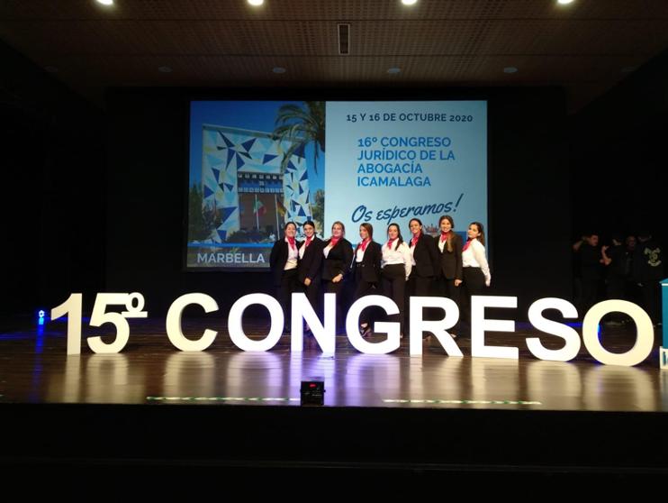 Prácticas en el XV Congreso de Abogacía