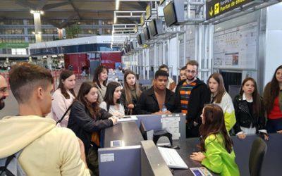 Vista al aeropuerto de Málaga-Costa del Sol